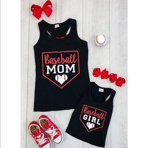 Other - Baseball girl tank